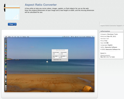 Aspect Ratio Converter